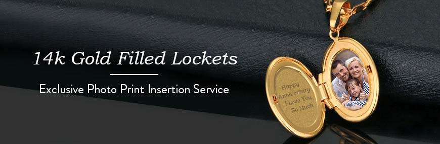 Gold Filled Lockets