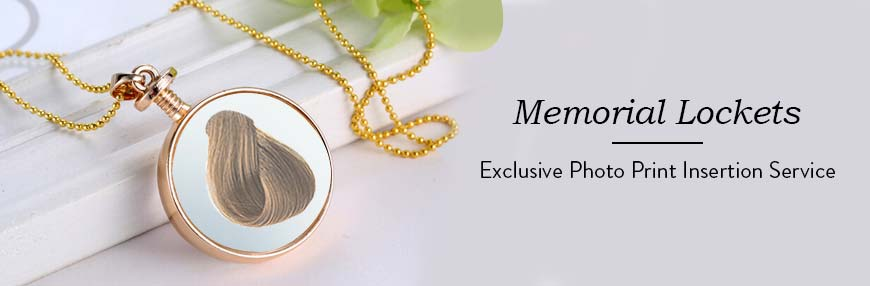 Memorial / Cremation Lockets