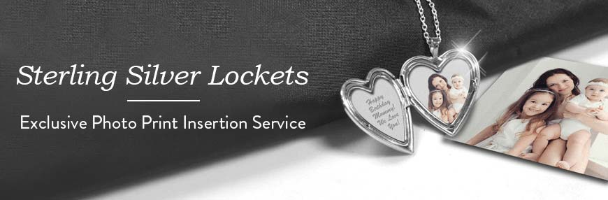 .925 Sterling Silver Lockets