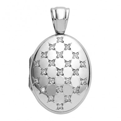Madison Platinum Locket