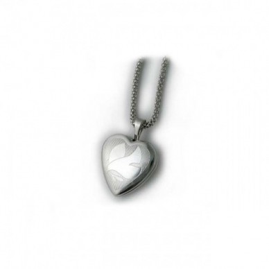 Sterling Silver Dove Locket