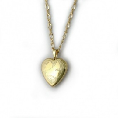 14k Gold Filled Locket With Dove