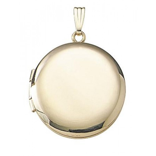 Gold Filled Round Locket - Veronica