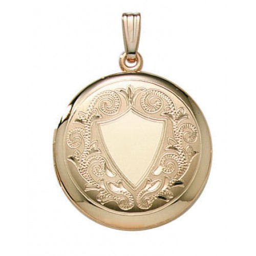 lockets gold round diamond locket