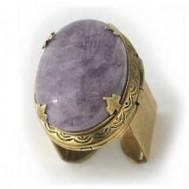 Aggie Locket Ring