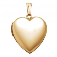 14K Gold Heart Locket - Lorraine