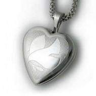 Sterling Silver Dove Locket