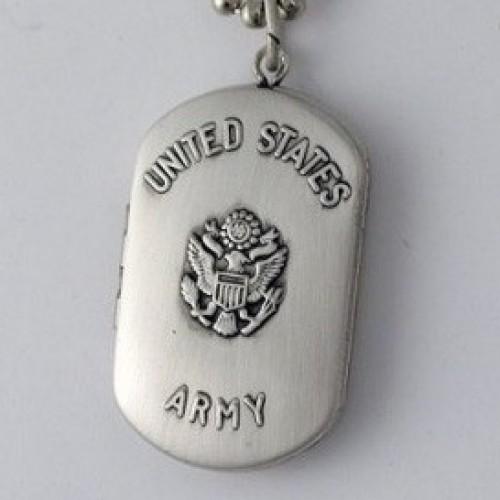 U.S. Army Dogtag Locket