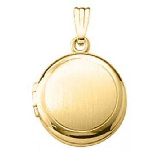 Gold Filled Round Locket - Goldie